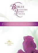 Biblia De Estudio Para La Mujer (Women Study Bible - Spanish) Hardback