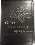 God is Faithful Imitation Leather