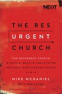 The Resurgent Church Paperback