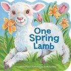 One Spring Lamb Board Book