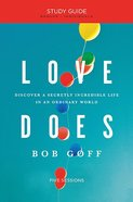 Love Does (Study Guide) Paperback