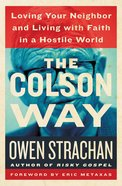 The Colson Way Hardback