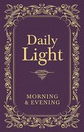 Daily Light: Morning and Evening Devotional (Burgundy) Hardback