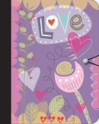 Journal: Love (Hearts) Paperback