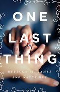 One Last Thing Paperback