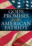God's Promises For the American Patriot (Deluxe Edition) Hardback