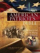 NKJV American Patriot's Bible (Black Letter Edition)