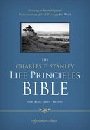NKJV Charles F. Stanley Life Principles Bible Signature Series (Black Letter Edition)
