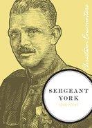 Sergeant York (Christian Encounters Series) Paperback