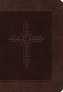 KJV Personal Size Giant Print End-Of-Verse Reference Bible Chocolate (Red Letter Edition)