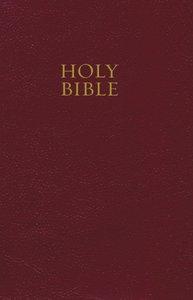 NKJV Pew Bible Burgundy (Red Letter Edition)