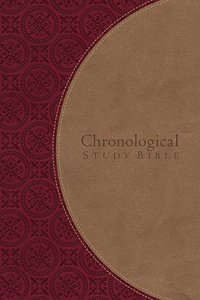 NKJV Chronological Study Bible Tan/Red
