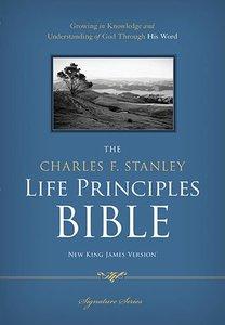 NKJV Charles F. Stanley Life Principles Bible Signature Series (Black Letter Edition)