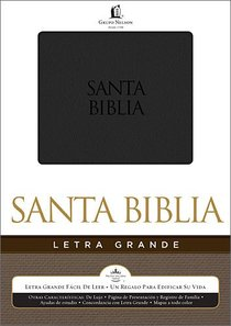Rvr 1960 Biblia Letra Grande Large Print Spanish Bible (Red Letter Edition)