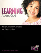 Learning About God (Building Kids Faith Series) Paperback