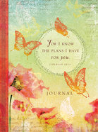Signature Journal: For I Know the Plans Hardback
