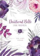 KJV Devotional Bible For Women
