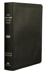 NKJV Jeremiah Study Bible Black Thumb-Indexed