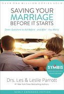 Saving Your Marriage Before It Starts Hardback