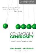Contagious Generosity Paperback