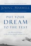 Put Your Dream to the Test Hardback