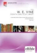 W.E Vine (Cd-Rom) (Essential Bible Study Library Series) Cd-rom