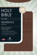 NKJV Nelson Reference Bible Milk Chocolate Imitation Leather