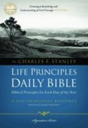 NKJV Charles F Stanley Life Principles Daily Bible (Black Letter Edition)