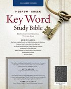 KJV Hebrew-Greek Key Word Study Bible Black (New Edition) Bonded Leather