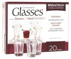 Glass Communion Cups (Box Of 20) Church Supplies