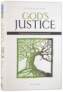 NIV God's Justice Holy Bible (Black Letter Edition) Hardback