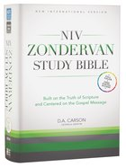 NIV Zondervan Study Bible Full Colour (Black Letter Edition)
