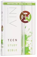 NIV Teen Study Bible (Black Letter Edition)