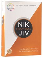 NKJV Study Bible (Red Letter Edition) (Full-color Edition) Hardback
