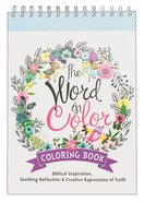 The Word in Color (Adult Coloring Books Series)
