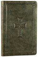 ESV Premium Gift Bible Olive Celtic Cross Design (Black Letter Edition) Imitation Leather