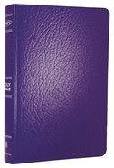 NKJV Gift & Award Bible Purple Imitation Leather