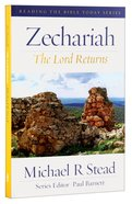 Rtbt: Zechariah - the Lord Returns Paperback