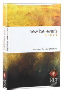 NLT New Believers Bible (Black Letter Edition)