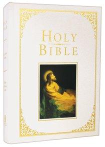 KJV Holman Family Bible White (Red Letter Edition)
