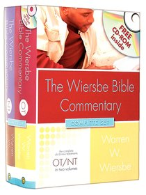 Wiersbe Bible Commentary 2 Volume Set (With Cd-rom)