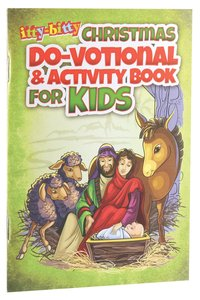 Activity Book Christmas Do-Votionals (Ages 5-10) (Itty Bitty Bible Series)