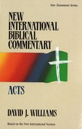 Nibc NT #05: Acts (#05 in New International Biblical Commentary New Testament Series)