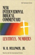 Nibc OT #03: Leviticus, Numbers (#03 in New International Biblical Commentary Old Testament Series)