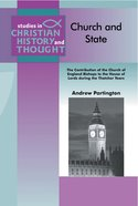 Church and State (Studies In Christian History And Thought Series) Paperback