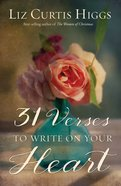 31 Verses to Write on Your Heart Hardback