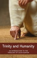 Trinity and Humanity eBook