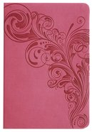 KJV Large Print Compact Reference Bible Pink Premium Imitation Leather