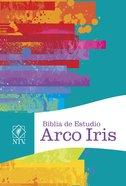 Ntv Biblia De Estudio Arco Iris, Multicolor Tapa Dura Con Ndice Hardback