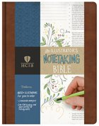 HCSB Illustrator's Notetaking Bible British Tan Bonded Leather